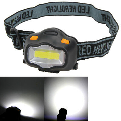 12 COB LED Headlight Fishing Camping Riding Outdoor Headlight Head Lamp Torch