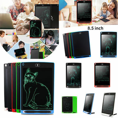 "Tavoletta Grafica Scrittura Tablet LCD Disegnare Graphics Paperless 8.5"" Writing"