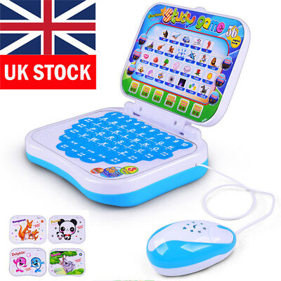 Baby Children Educational Learning Study Game Toy Laptop Computer For Kids Gift