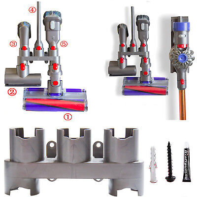 Support mural Handheld mur outil stockage titulaire Grille pour Dyson V7 V8 V10