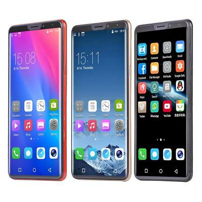 "X21 6.1"" QHD Android 8.1 Quad Core 3G Face ID Dual Camera Smart Cell Phone 1G+4G"