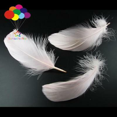 Baby Pink 100 Pcs/Lots Goose feather 4-7cm 1-2 Inch Stage Props Dream Catcher