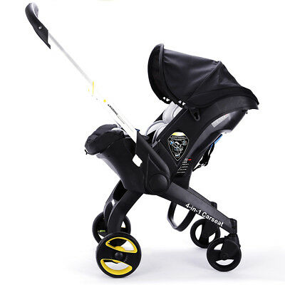 Luxury Newborn Baby Trolley 3 4 in 1 Car Seat Stroller With Accesories Infant