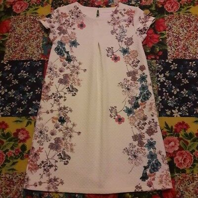 Next Age 10 Quilted Floral Tunic Dress