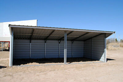 Field Shelter Livestock Shelter Farm Steel Storage Building Horse Stables Block