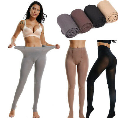 Plus Size Women 120D Velvet Warm Pantyhose Super Elastic Stockings Thick Tights