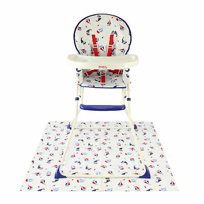Redkite Feed Me Compact Highchair Baby Feeding Chair Kitty Pink Or Blue Ship