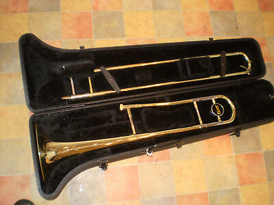Trombone Jupiter JSL432 jiggs pbone plastic bb tenor trombone supplied with carry bag