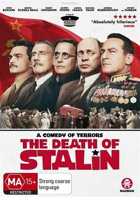 The Death Of Stalin Dvd, New & Sealed, 2018 Release, Region 4, Free Post