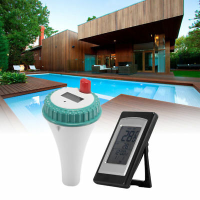 New Wireless Floating Thermometer Digital Swimming Pool SPA Remote Temperature