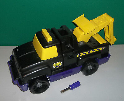 Cool Tools Tow Truck 1995 Vintage Black And Purple Comes With Tools
