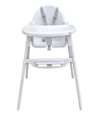 High Chair Baby Feeding Seat Infant Foldable Portable Booster Table Child 2 In 1