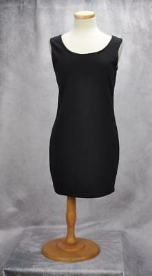 d0cc0fa646 Planet Gold Couture Womens Sleeveless Zipper Bodycon Dress Size Large Black