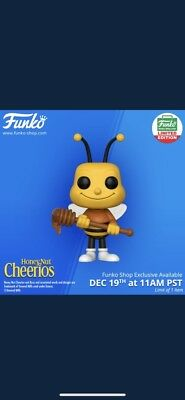 Exclus. Funko Pop! Pop Ad Icons Honey Nut Cheerios Buzz Bee [CONFIRMED] SOLD OUT