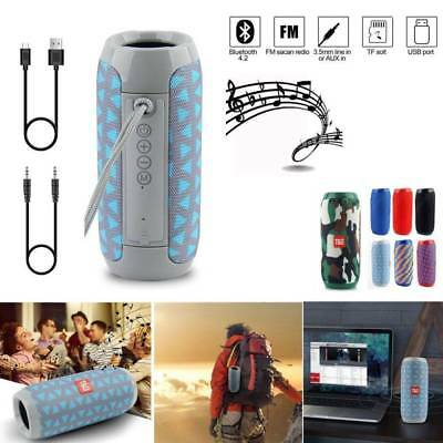 Portable Waterproof Wireless Bluetooth Speaker Bass Outdoor Stereo Loudspeaker