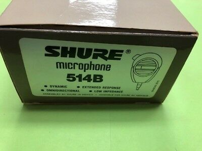 Shure 514B Hand-Held Paging/Public Address Microphone