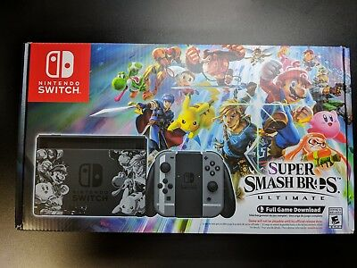 Nintendo Switch System - Super Smash Bros. Ultimate Limited Edition Console