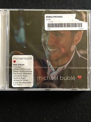 Michael Buble CD 2018 Love  Physical Factory Sealed Album BRAND NEW. Mint Cond.