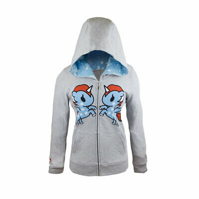 Tokidoki American Dreams Pony Juniors Zip Hoodie, Small