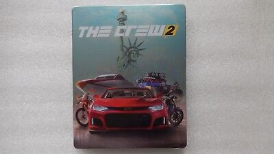 The Crew 2 Steelbook ONLY PS4/XBOX ONE (PLEASE READ, NO GAME)