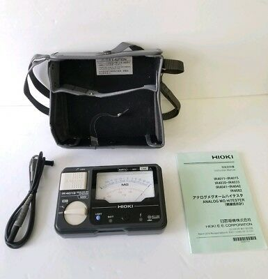 HIOKI 1 Range Analog insulation tester, IR4013-10, Made in JAPAN