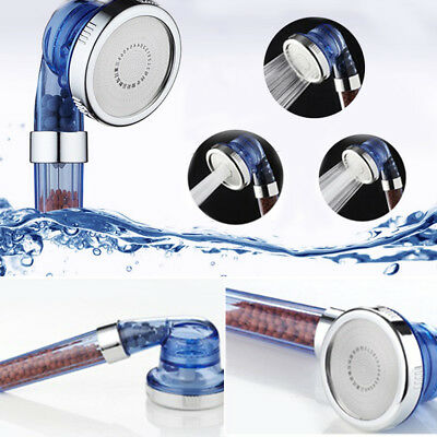 Perfect Adjustable 3 Modes High Pressure Stream Handheld Shower Head Replacement