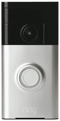 NEW Ring 8VR1S5-SAU0 Video Doorbell - Satin Nickel