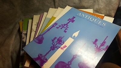 THE MAGAZINE ANTIQUES 1967 Complete Lot Of 12 Jan-Dec) 45th year anniversary
