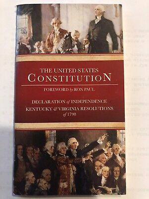 Lot of 5 New Pocket U.S. Constitution and Declaration of Independence