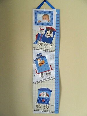 """NEW IN PACKAGE DISNEY WALL GROWTH CHART w/picture frame, hard board, 9.3w x 38h"""""""
