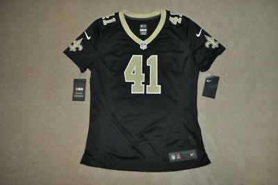 more photos 35a77 83130 ALVIN KAMARA JERSEY 41 New Orleans Saints Nike Game Jersey ...