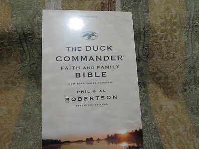 NKJ Bible, The Duck Commander Faith and Family Bible, NKJ Version, New, Brown