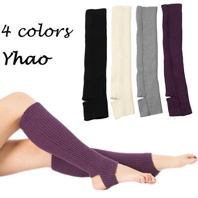 Latin Dance Yoga Knitting Socks Leg Warmers Bodybuilding Socks Boot Cuffs ca