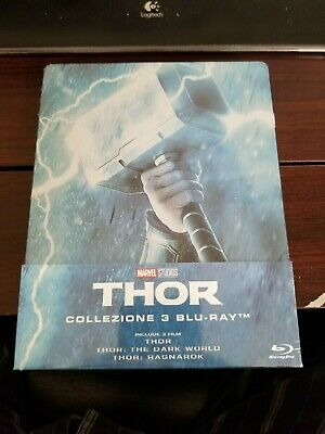 THOR TRILOGY STEELBOOK [NEW/Blu-ray] Italy Import / English Audio