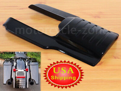 7Rear Fender Extension Filler For Harley 96-08 4Stretched Saddlebag Extension Motorcycle Parts