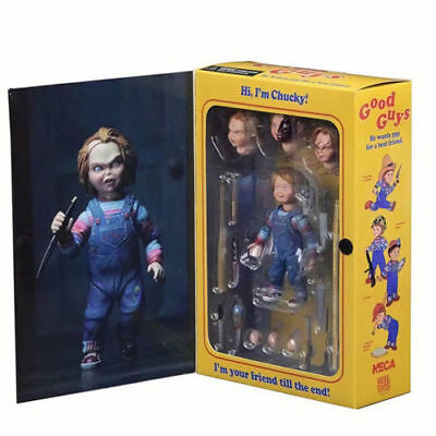 """NECA Ultimate Chucky Doll Child's Play Good Guys 4"""" Action Figure Toy Model"""