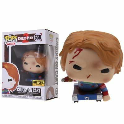 Funko Pop! Movies Child's Play #658 CHUCKY ON CART Figure Limited Edition Toy FR