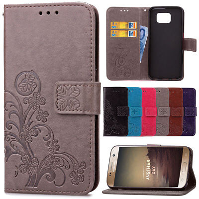 For Samsung Galaxy Note 3 4 5 Hybrid TPU Leather Case Shockproof Wallet Cover