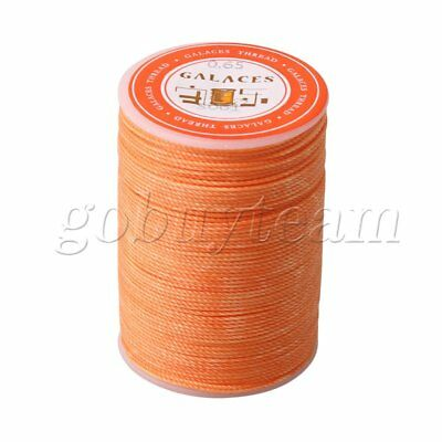 Terylene 0.65mm Dia Leather Sewing Waxed Thread Cord for Leather Crafts