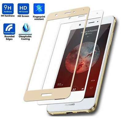 For Huawei P8 P9 P10 Lite Full Cover 2.5D Curved Tempered Glass Screen Protector