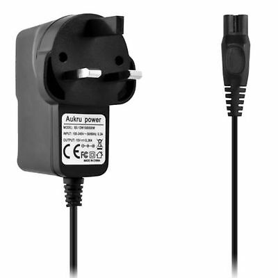 15v Shaver Power Supply UK Plug Charger For Philips Wet Dry Universal HQ8505 New