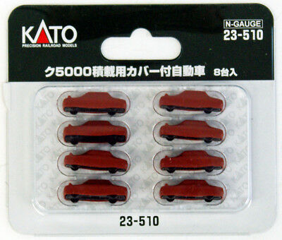 Kato 23-510 Covered 8 Cars to load Freight Car KU 5000 (N scale)