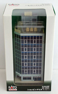 Kato 23-433A 6 Floor Department Store (Blue) (N scale)
