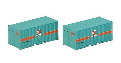 Tomix 3106 Type UC-7 10t 20' Containers (2 pieces) (N scale)