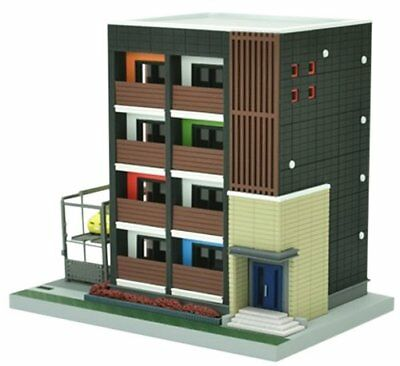 Tomytec (Building 160) Contemporary Apartment Building 1/150 N scale