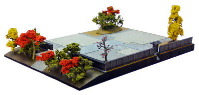 Tomytec Diorama Base B2 for Japanese Temple 1/150 N scale