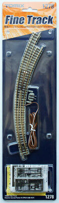 Tomix 1278 Electric Curved Turnout N-CPR317/280-45(F) Power-routing (N scale)