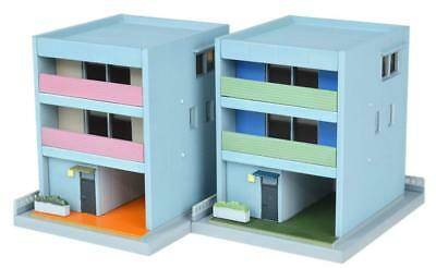 Tomytec (Building 080-3) House D3 (Contemporary Town Houses) 1/150 N scale