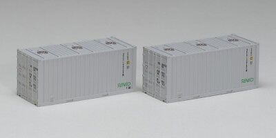 Tomix 3164 Type ISO 20' Containers (Senko 2 pieces) (N scale)