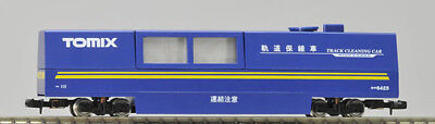 Tomix 6425 Track Cleaning Car (Blue) (N scale)